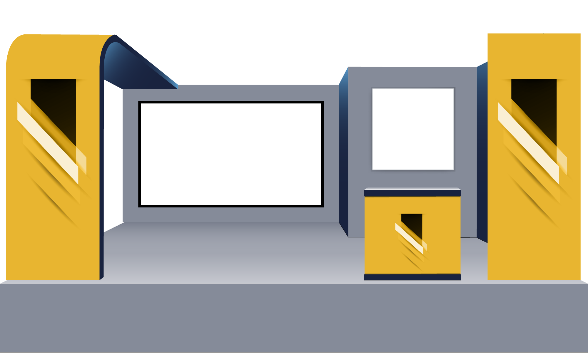 Premium Virtual Tradeshow Booth