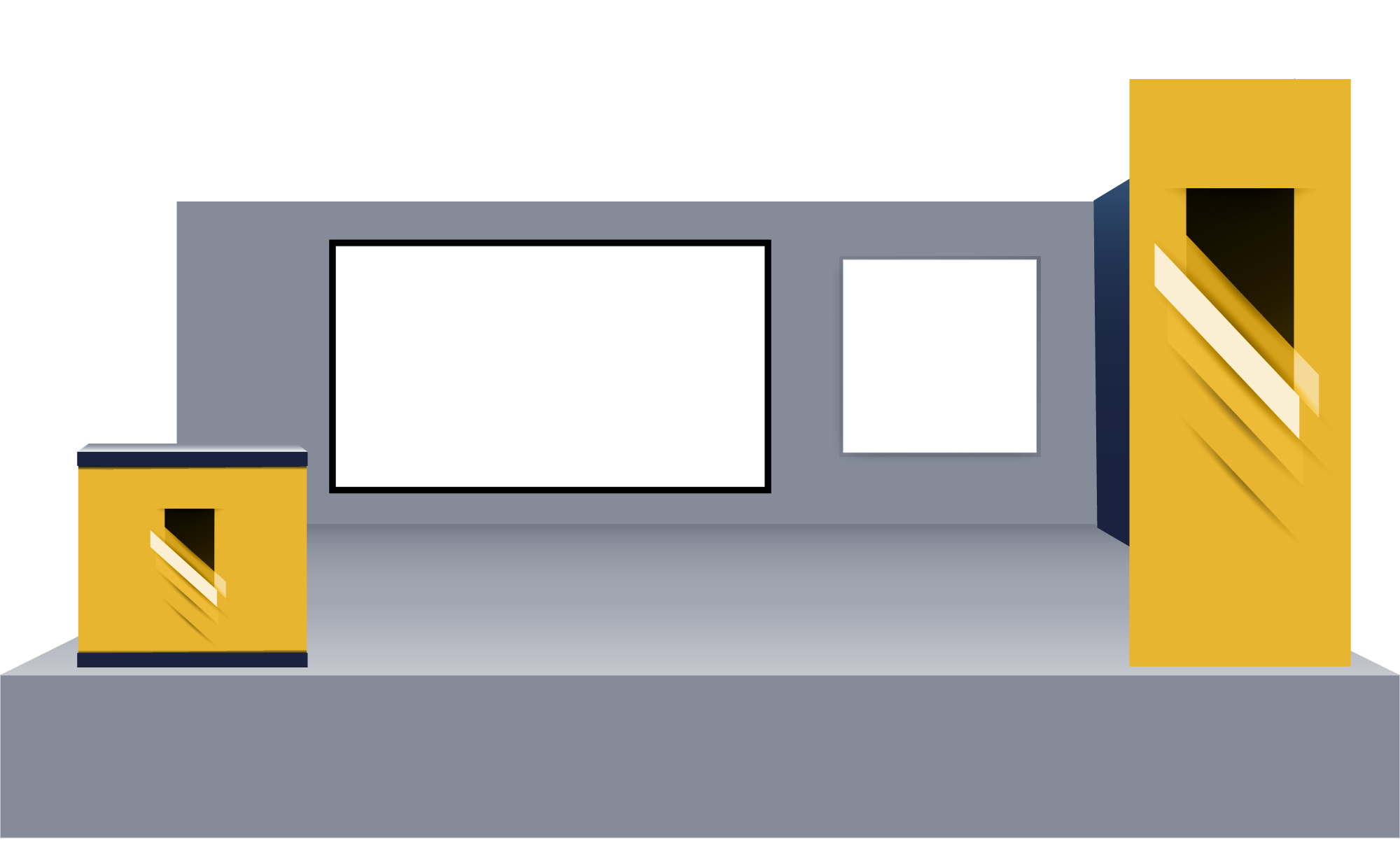 Basic Virtual Tradeshow Booth
